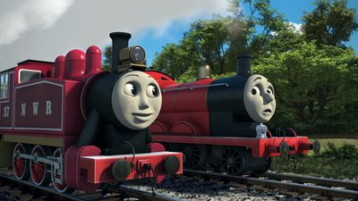 Season 21, Episode 12 The Fastest Red Engine on Sodor