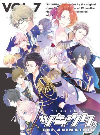 Tsukiuta. The Animation Poster