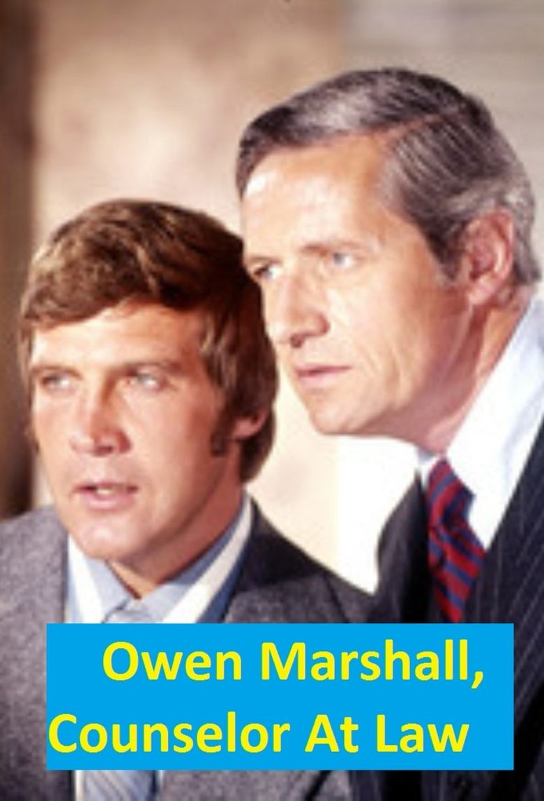 Owen Marshall: Counselor at Law Poster