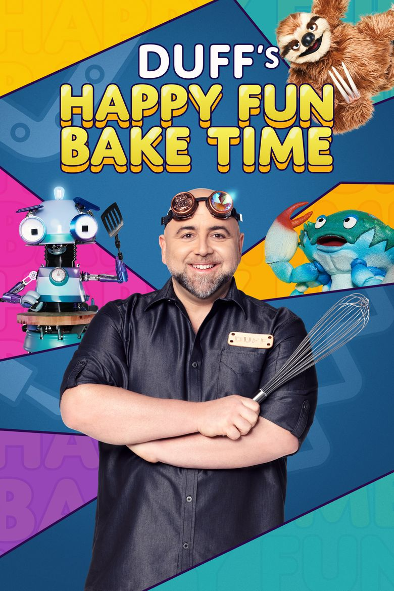 Duff's Happy Fun Bake Time Poster