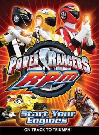 Power Rangers R.P.M. Poster