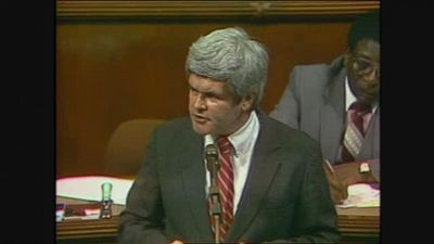 Season 1996, Episode 03 The Long March of Newt Gingrich