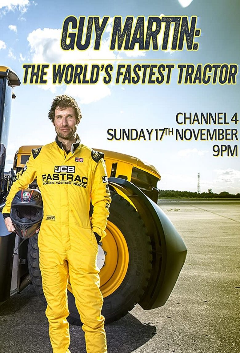 Guy Martin: World's Fastest Tractor Poster