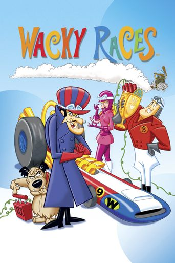 Wacky Races Poster