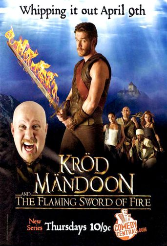 Kröd Mändoon and the Flaming Sword of Fire Poster