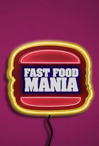 Fast Food Mania Poster