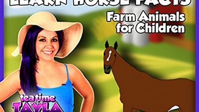 Watch SHOW TITLE Season 04 Episode 04 Learn Horse Facts - Farm Animals for Children on Tea Time with Tayla