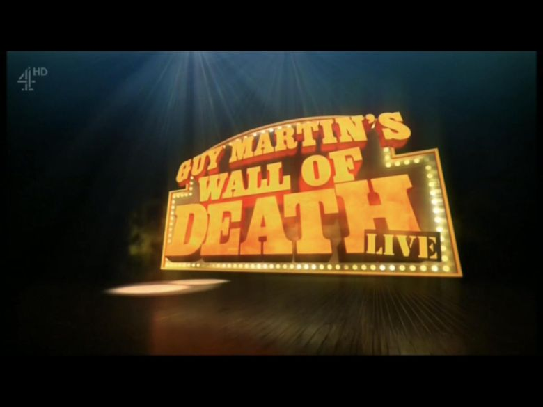 Guy Martin's Wall of Death Live Poster