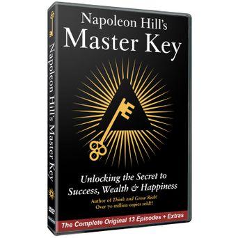 Napoleon Hill's Master Key Poster