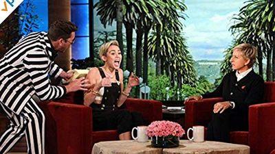 Season 01, Episode 05 Ellen Scares Miley Cyrus