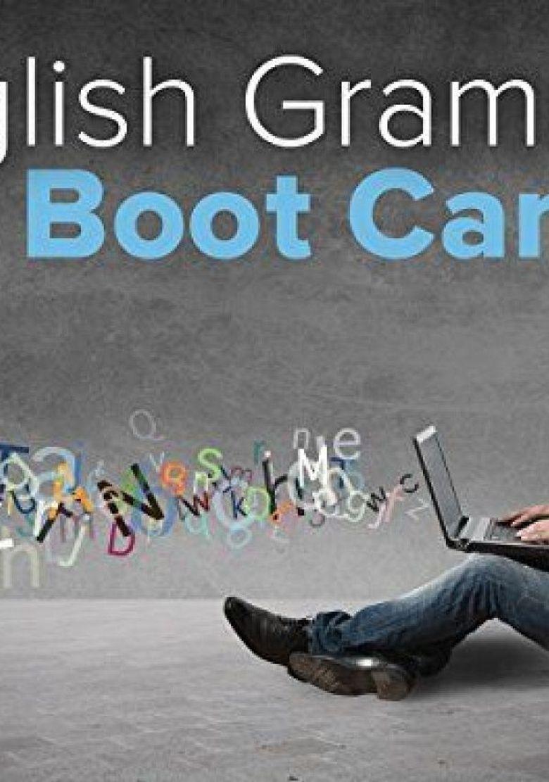 English Grammar Boot Camp Poster