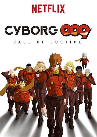 Cyborg 009: Call of Justice Poster