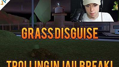 Season 04, Episode 03 Grass Disguise Trolling In Jailbreak!