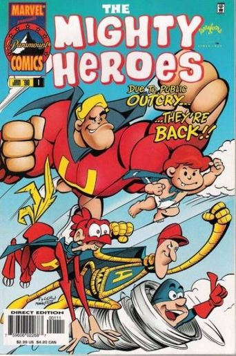 The Mighty Heroes Poster