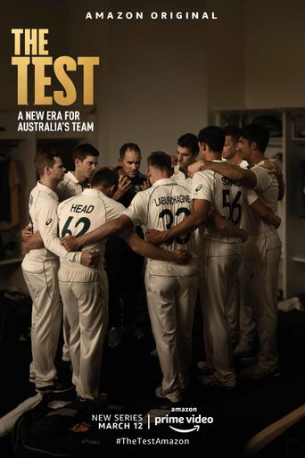 The Test: A New Era For Australia's Team Poster