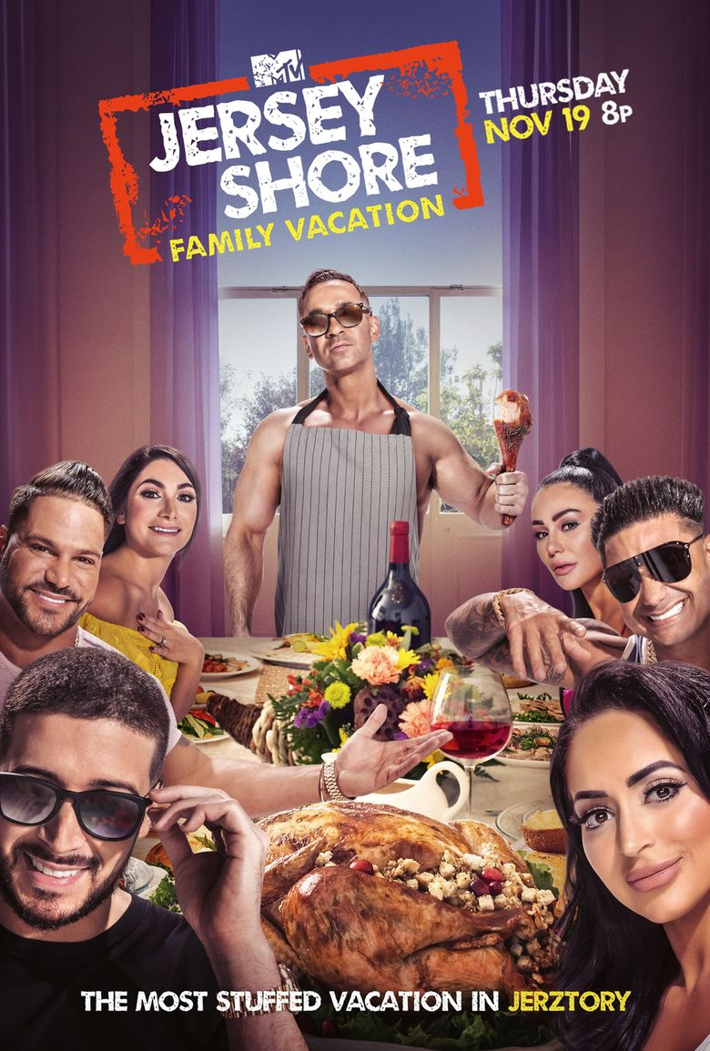 Jersey Shore: Family Vacation Poster