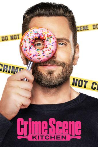 Crime Scene Kitchen Poster