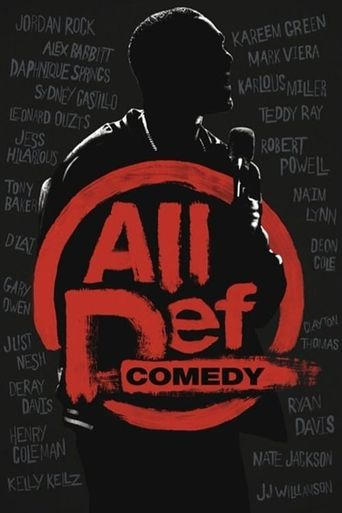 All Def Comedy Poster