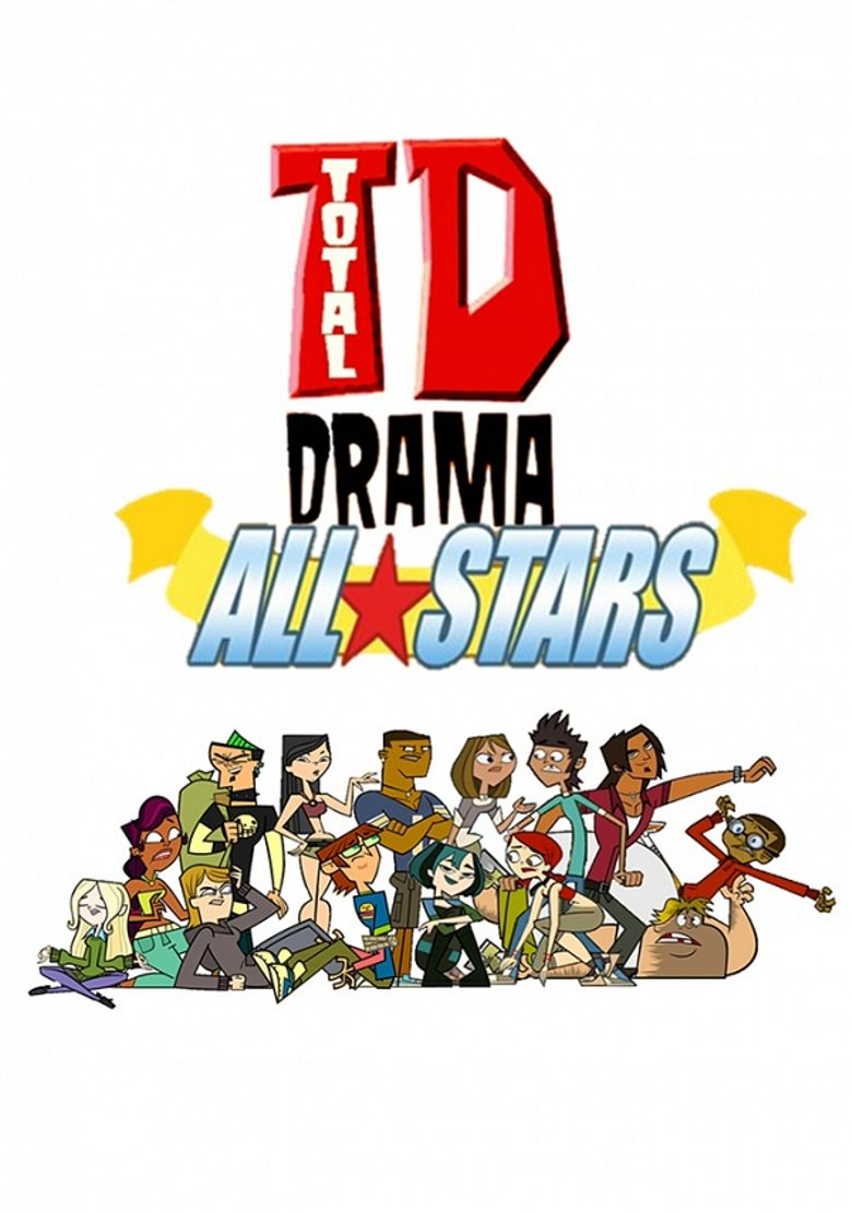 Total Drama All-Stars Poster