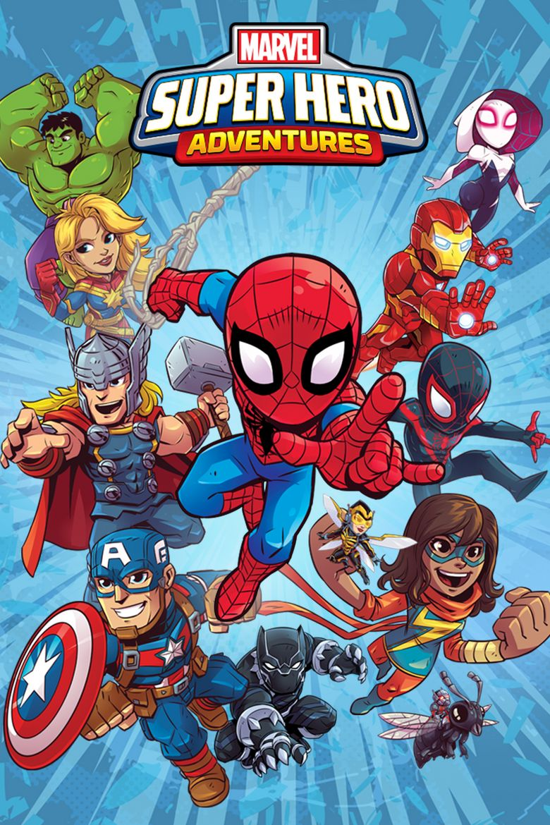 Marvel Super Hero Adventures Poster