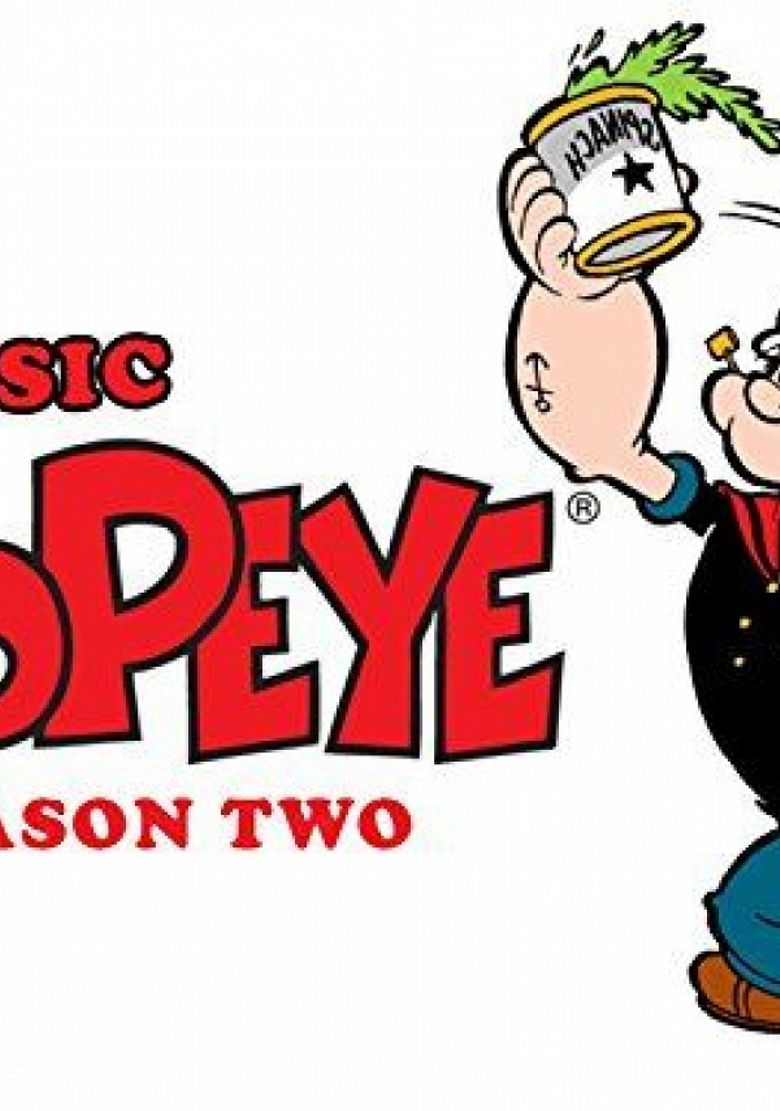 Classic Popeye Poster