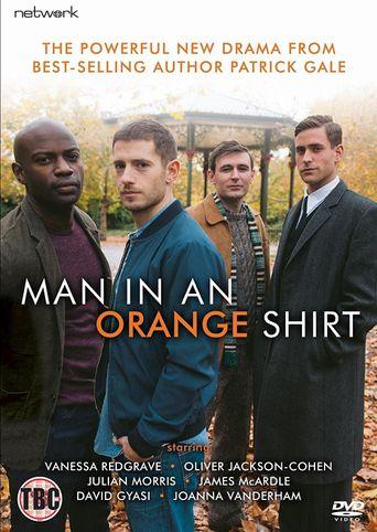 Man in an Orange Shirt Poster