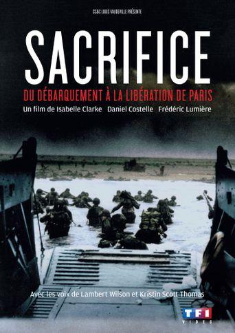 D-Day Sacrifice Poster