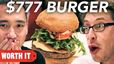 Season 01, Episode 02 $4 Burger Vs. $777 Burger