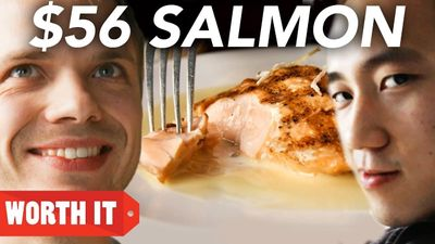 Season 01, Episode 07 $8 Salmon Vs. $56 Salmon