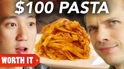 Season 01, Episode 05 $8 Pasta Vs. $100 Pasta