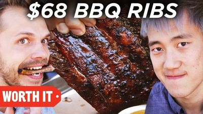 Season 03, Episode 02 $7 BBQ Ribs Vs. $68 BBQ Ribs