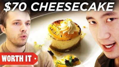 Season 02, Episode 06 $4 Cheesecake Vs. $70 Cheesecake