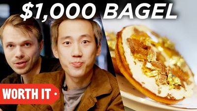 Season 04, Episode 02 $1 Bagel vs. $1,000 Bagel