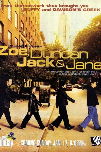 Zoe, Duncan, Jack and Jane Poster
