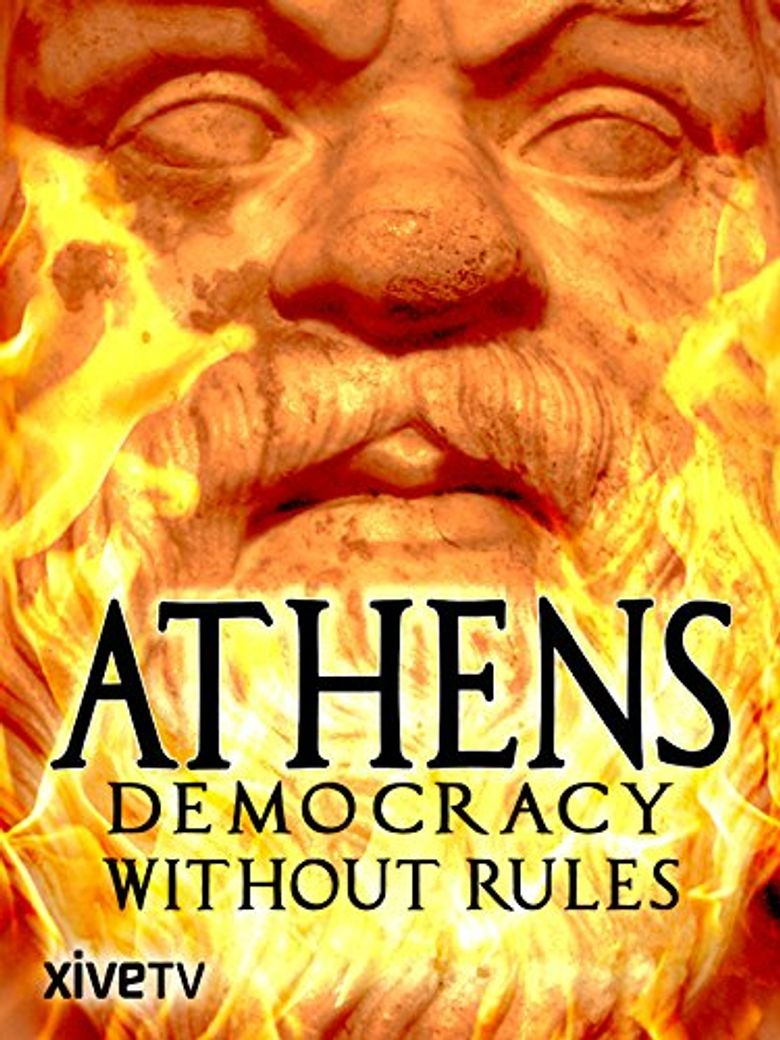 Athens The Truth about Democracy Poster