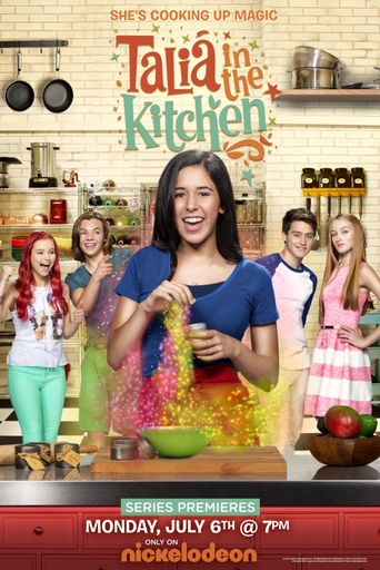 Talia in the Kitchen Poster