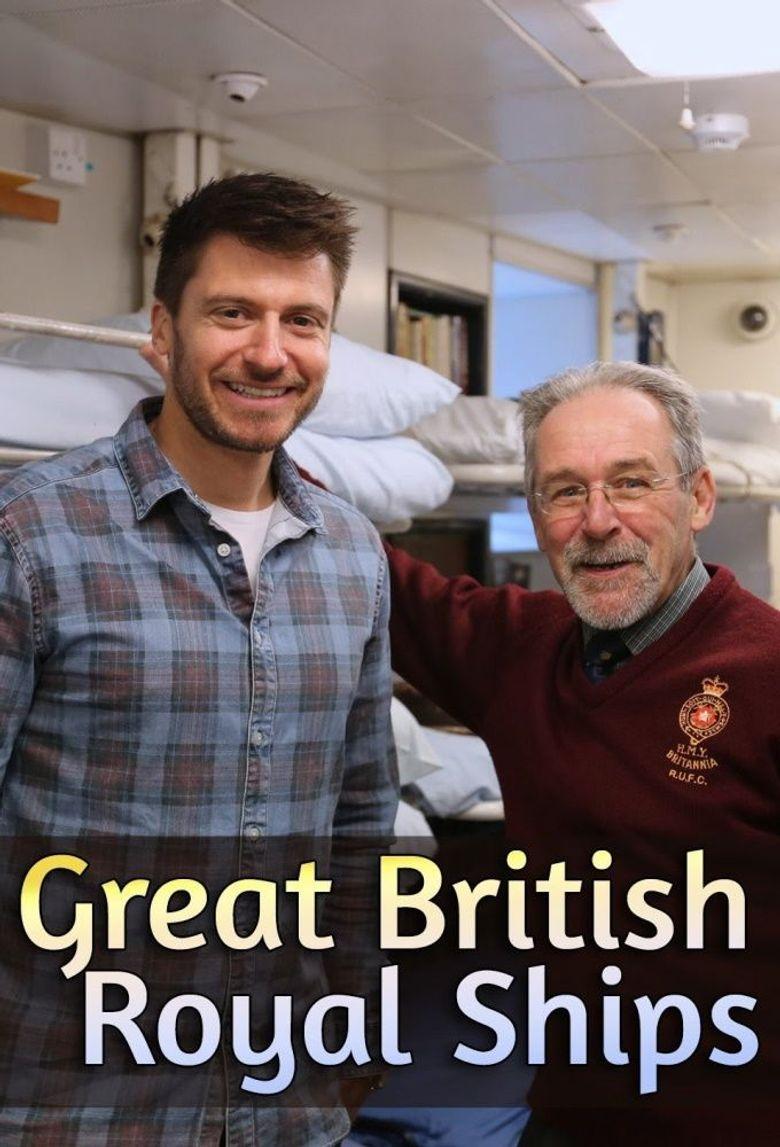 Great British Royal Ships Poster