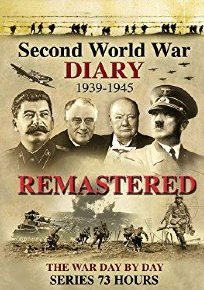 Second War Diary - The War Day by Day Poster