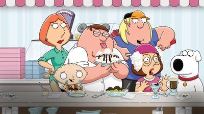 Season 17, Episode 14 Family Guy Lite