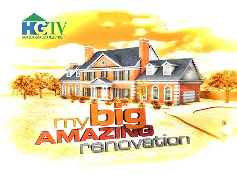 My Big Amazing Renovation Poster