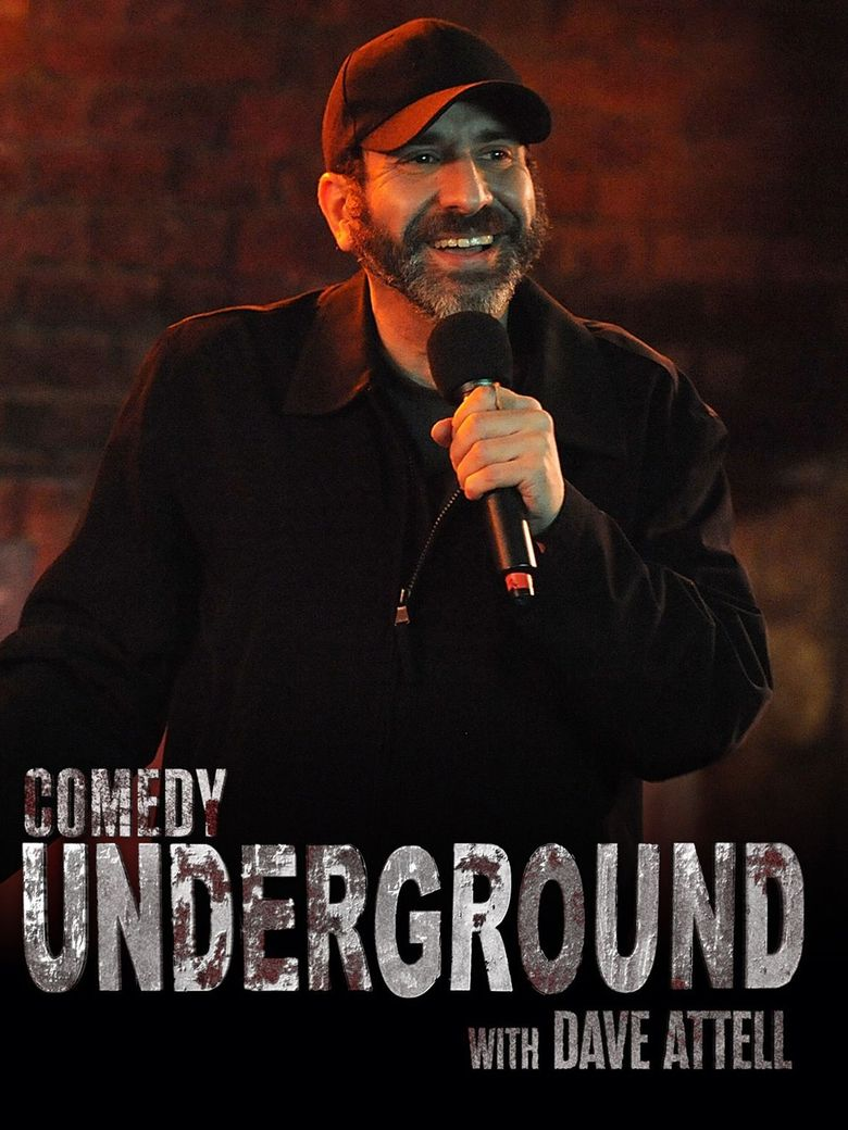Comedy Underground with Dave Attell Poster
