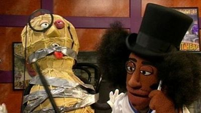 Central show Crank Yankers and as a celebrity guest on various talk shows.