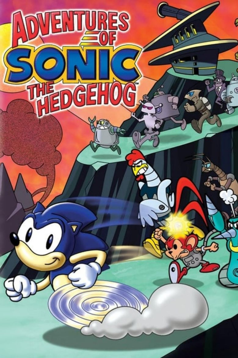 Adventures of Sonic the Hedgehog Poster