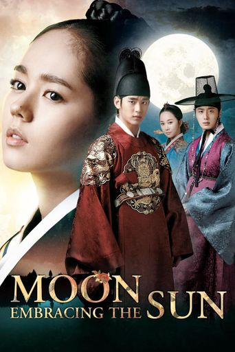 Moon Embracing the Sun Poster