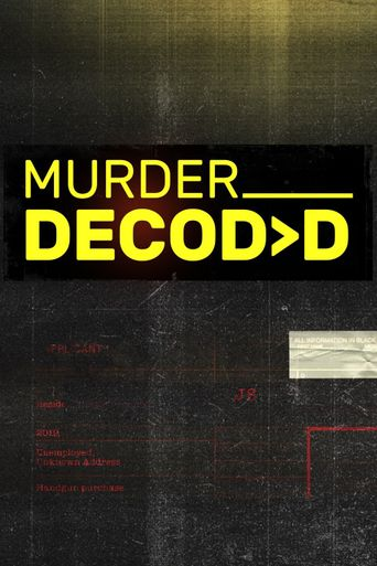 Murder Decoded Poster