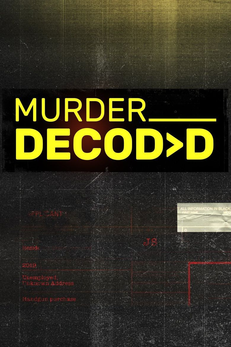 Murder Decoded Poster