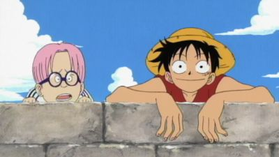 Season 01, Episode 02 The Great Swordsman Appears! Pirate Hunter, Roronoa Zoro
