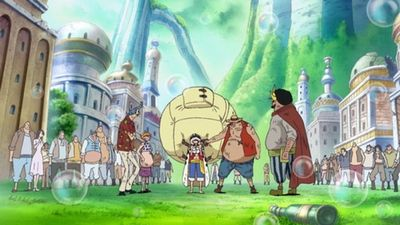 Season 15, Episode 02 An Explosive Situation! Luffy vs Fake Luffy