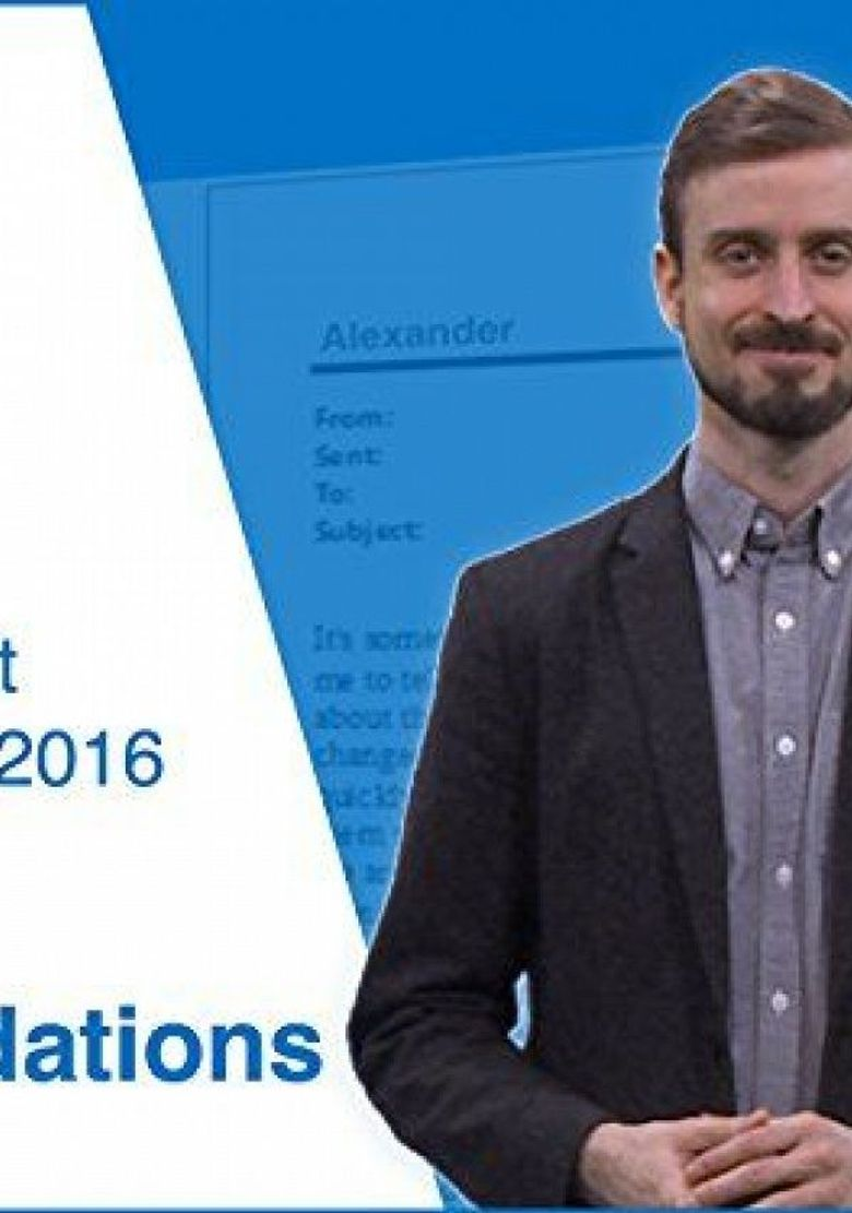 Microsoft Outlook 2016 - Training Poster