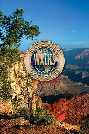 Scenic Walks Around the World Poster